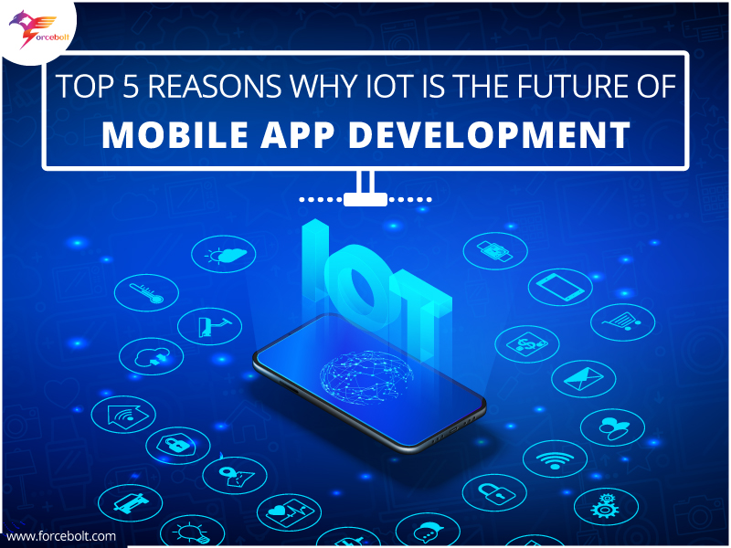 Top 5 Reasons Why IoT Is The Future Of Mobile App Development