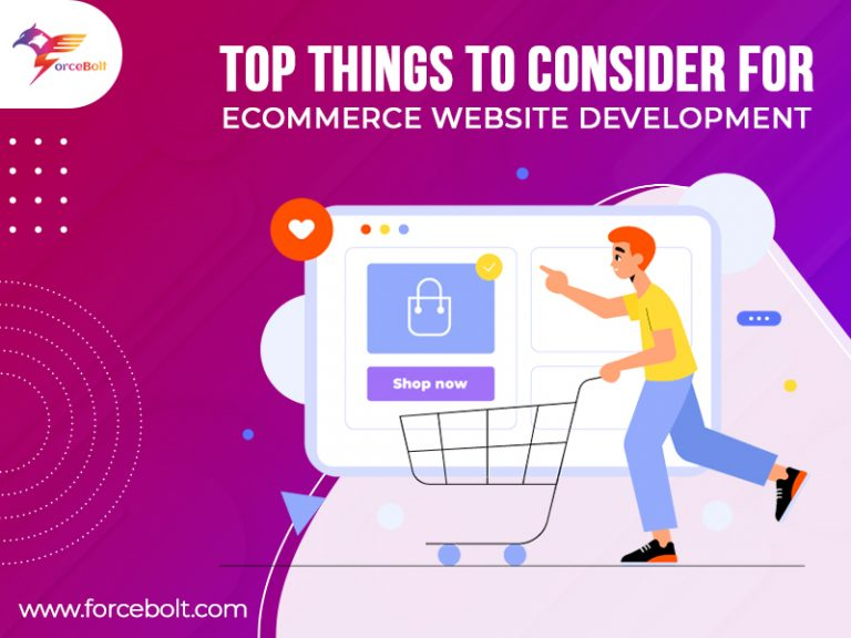 Top Things To Consider For eCommerce Website Development