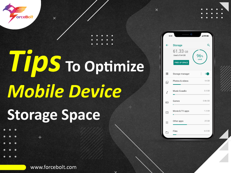 Tips To Optimize Mobile Device Storage Space
